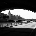 BandW - On the Seine